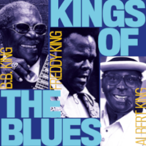 Showcasing the greatest blues songs by BB King, Albert King and Freddie King.