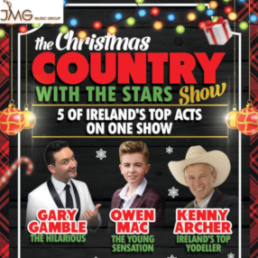 Ireland's favourite country music stars in one super festive show.