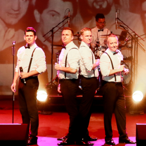 Friday 14 February 7.30pm Tribute to the musical phenomenon 'Jersey Boys'