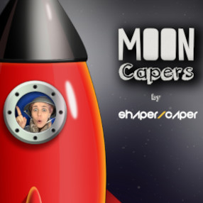Watch from Monday 22 March 10am, available for 1 weekRecruiting all Moon Cadets! Meet Captain Caper and pilot Peppy and help them on their mission to the Moon.